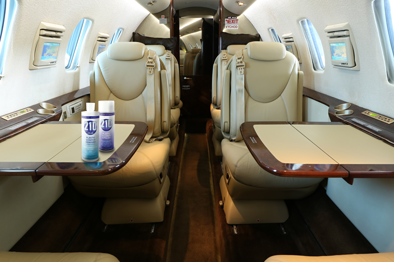 Sumner Labs Plastic Cleaner Uses Aviation