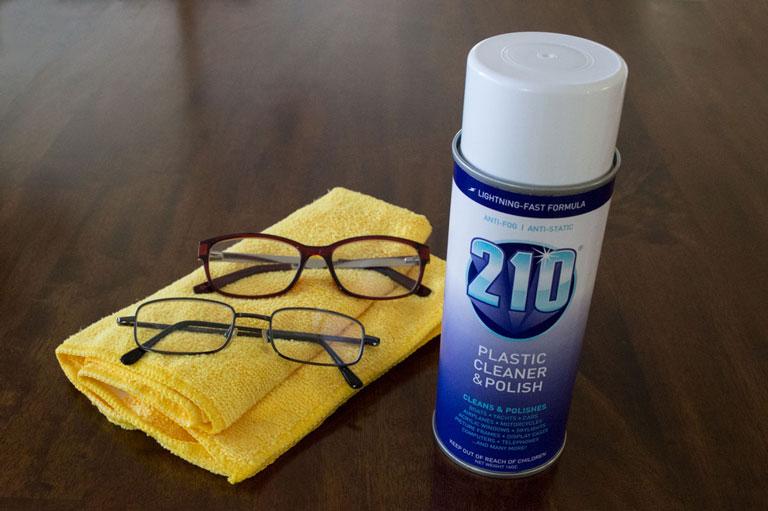 Sumner Labs Plastic Cleaner and Scratch Remover Household Glasses Eyeglasses