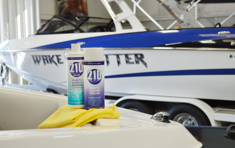 Sumner Labs Plastic Cleaner and Scratch Remover Marine Boat