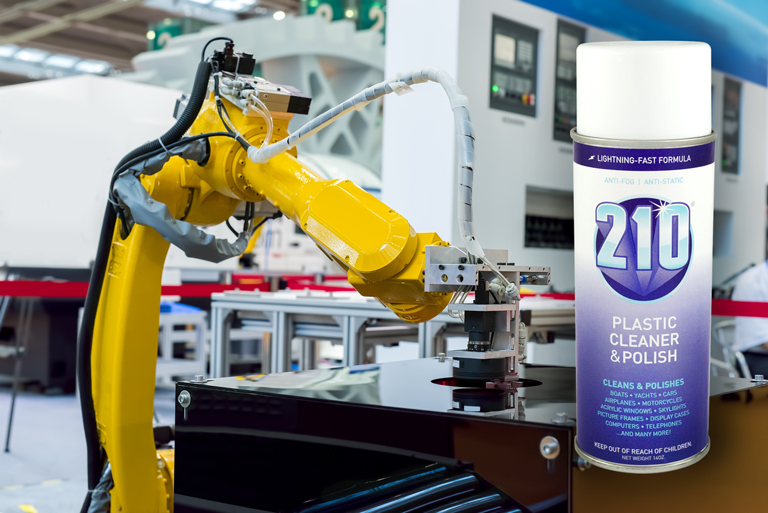 Sumner Labs Plastic Cleaner Uses Manufacturing