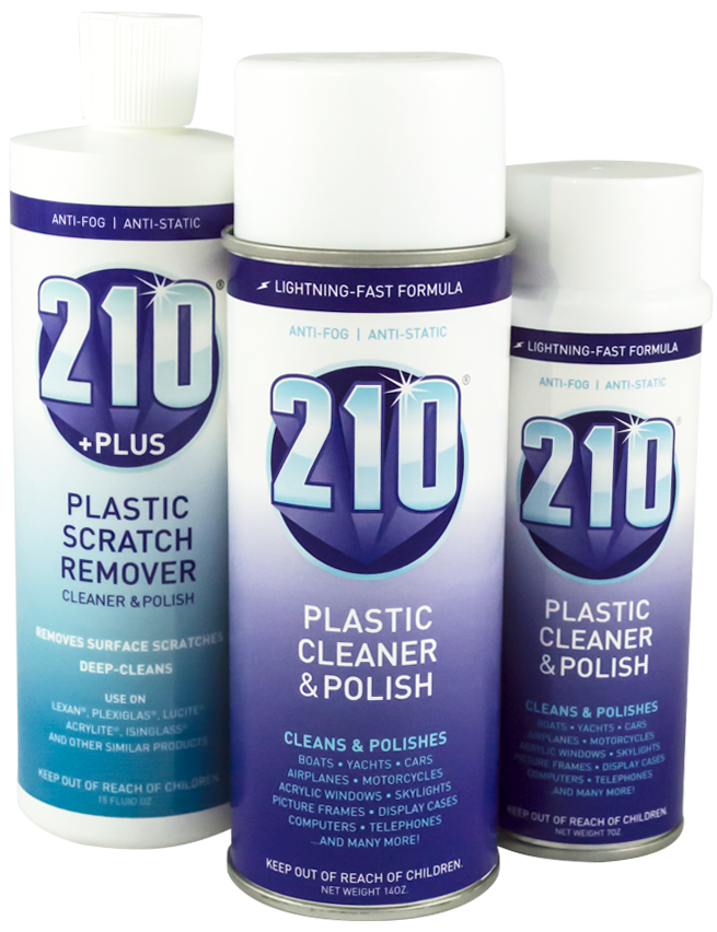 Sumner Labs Plastic Cleaner Scratch Remover Polish Products